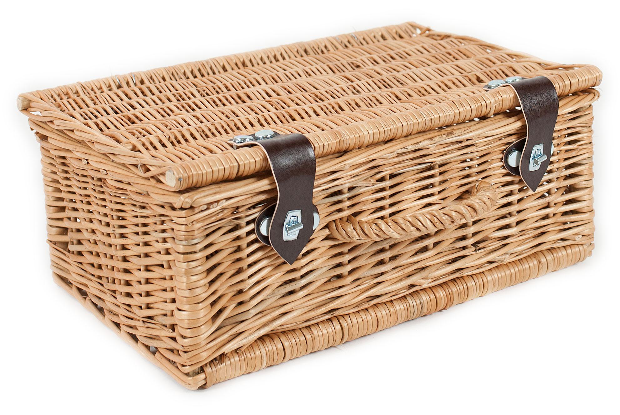 Rieten picknickkoffer 4021/ 45cm