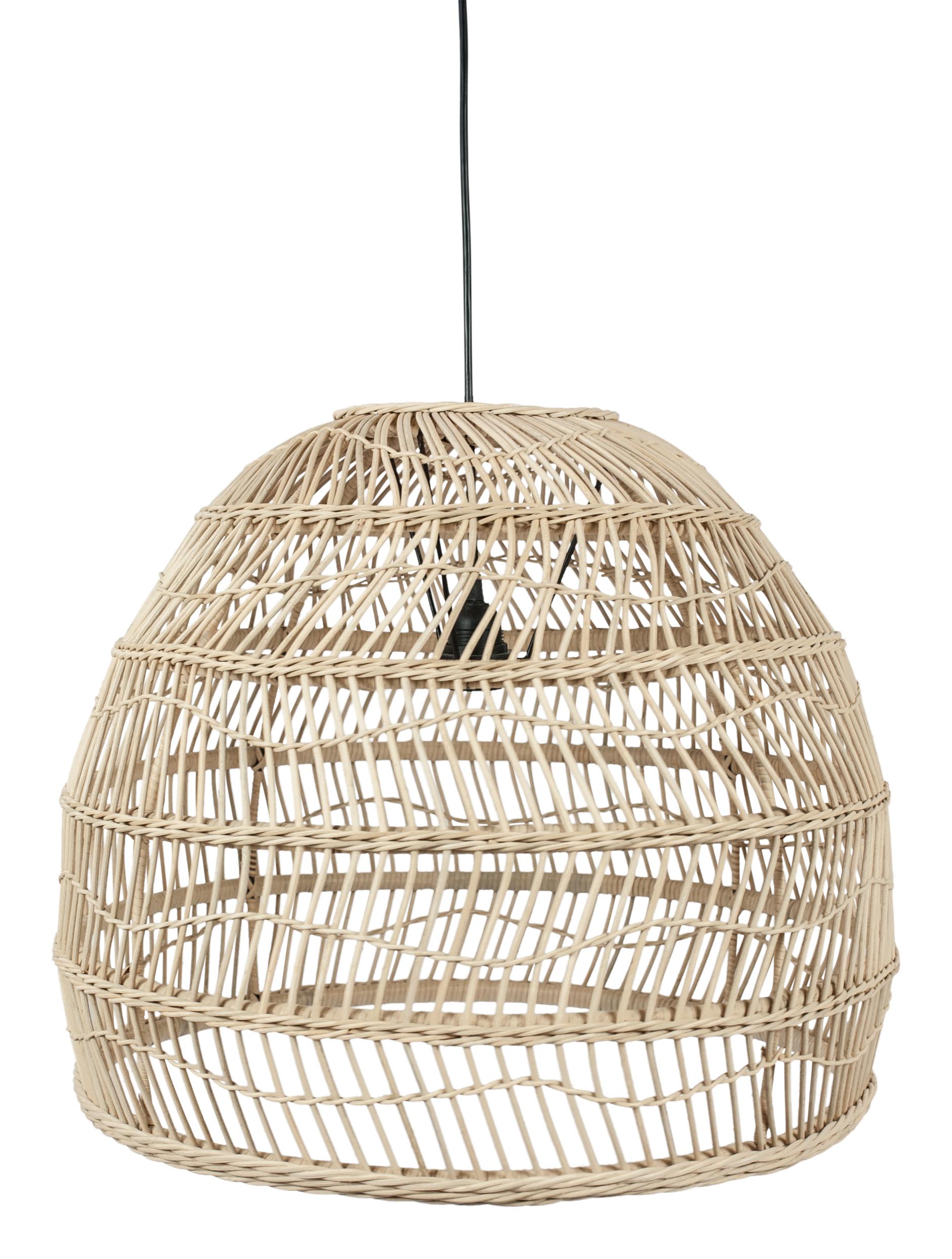 Rotan Hanglamp naturel