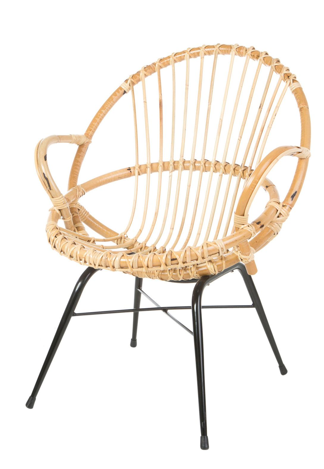 Retro spijl stoel
