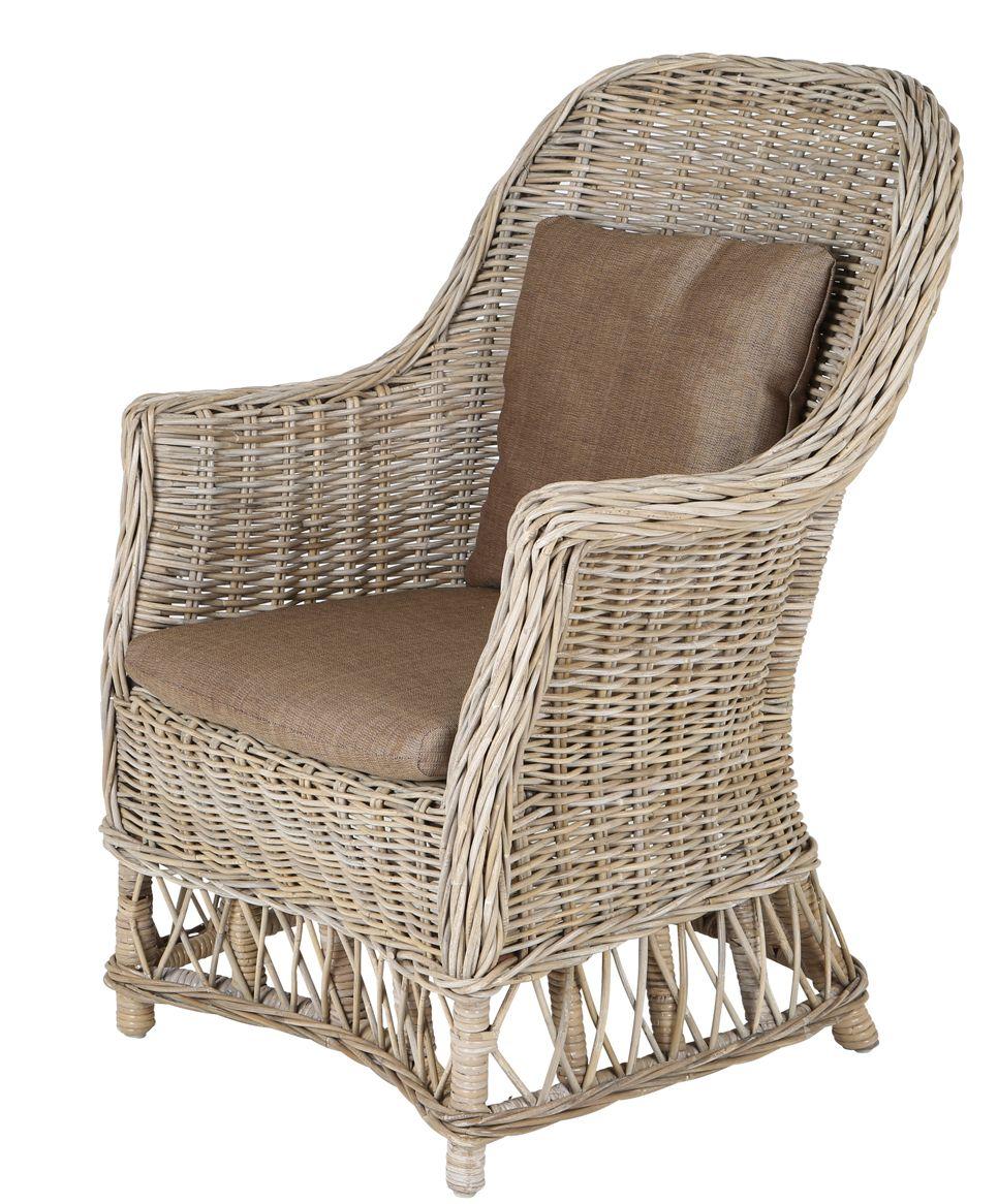 Rotan fauteuil