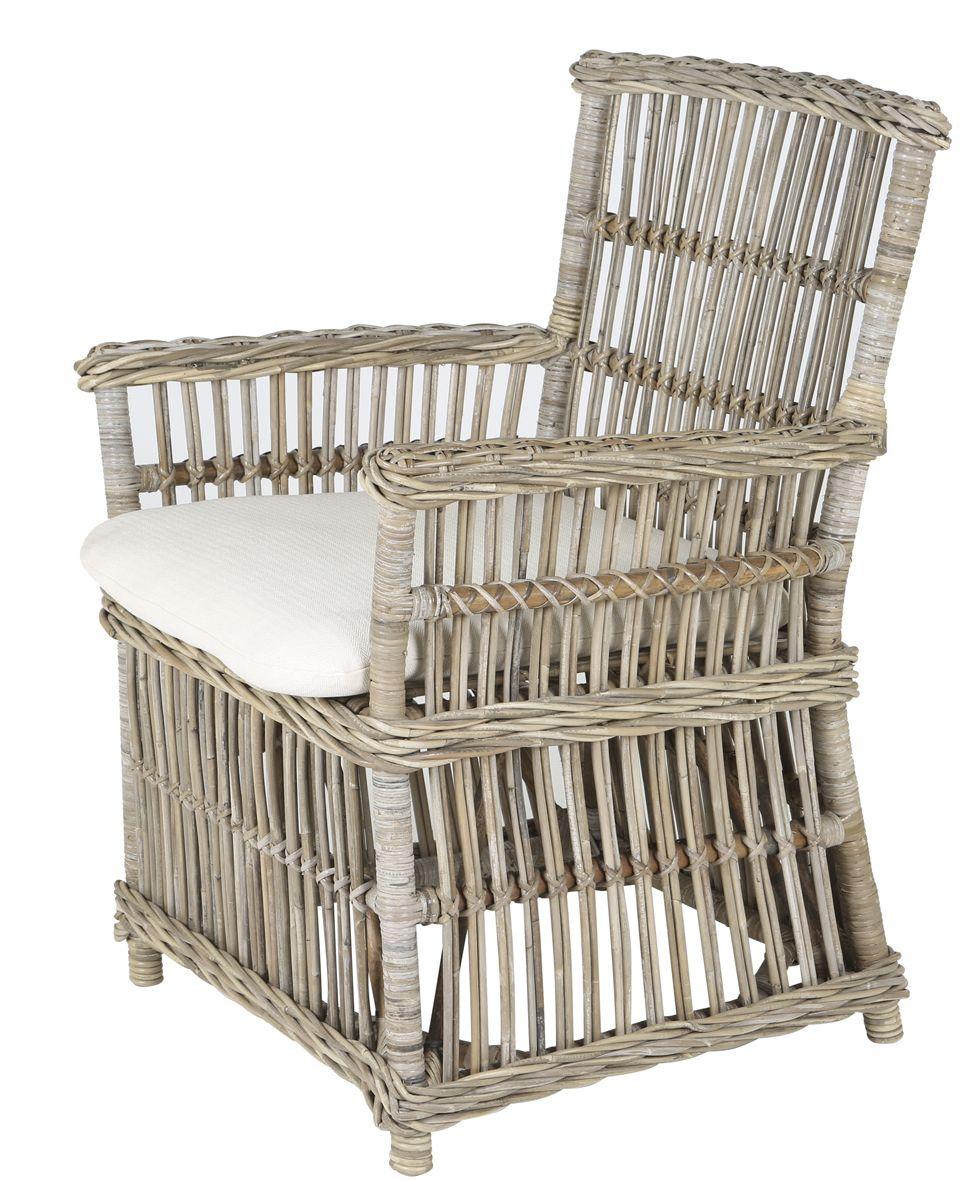 Rotan veranda stoel