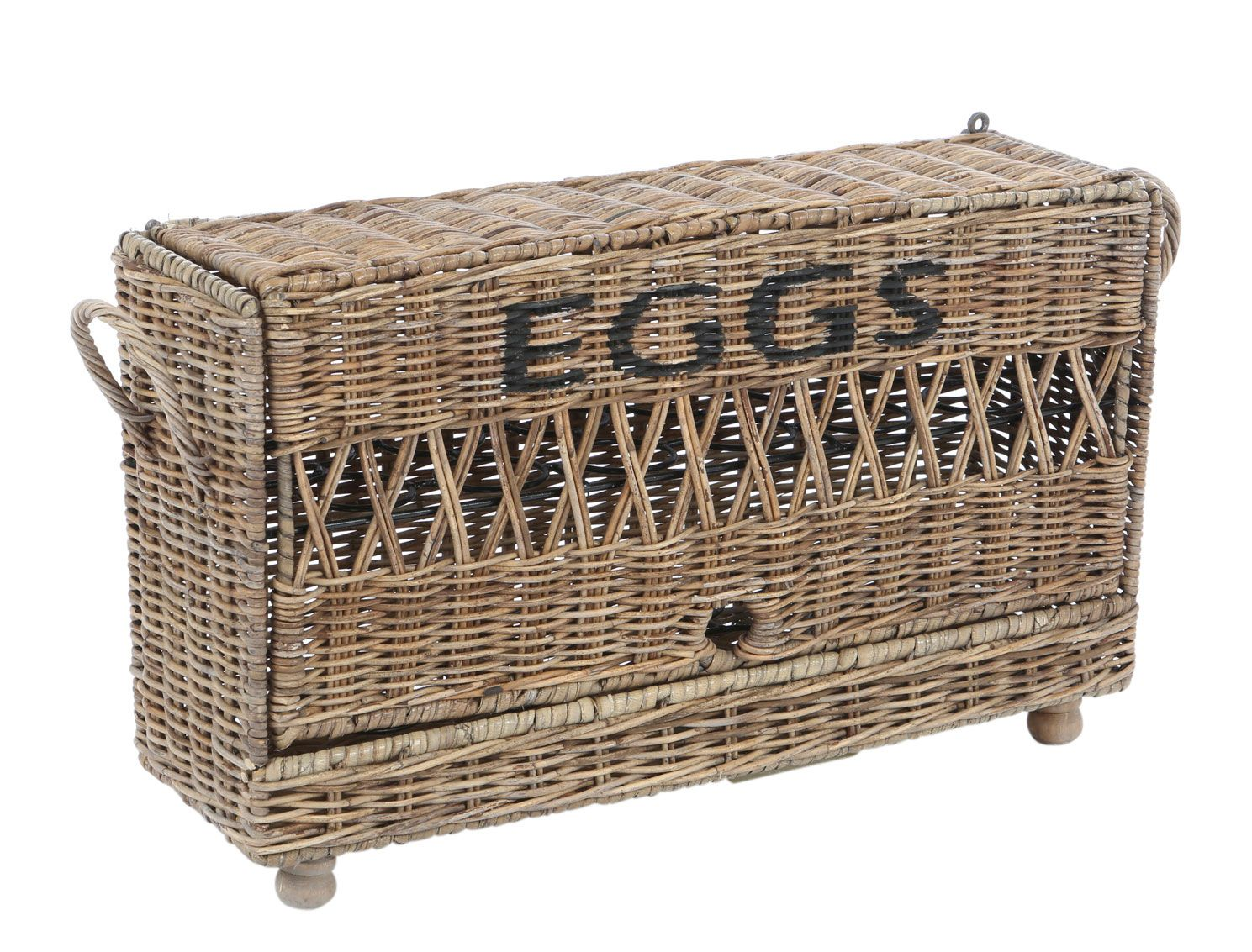 Rattan Eierkorb