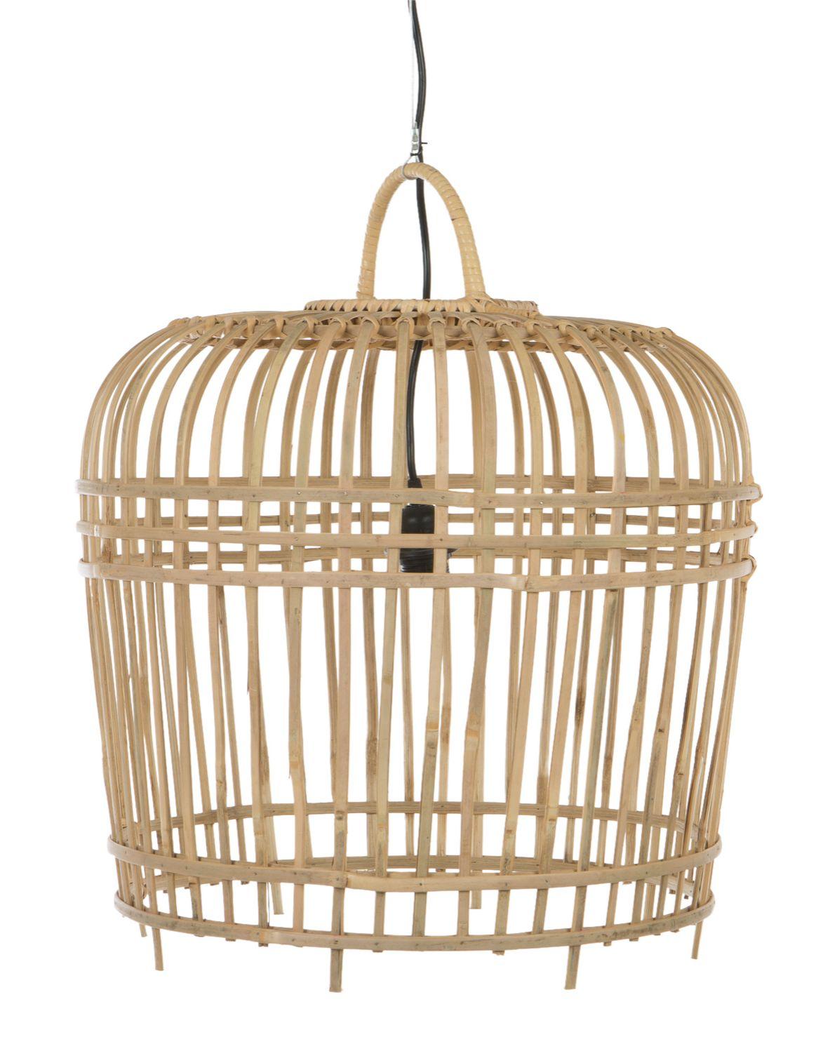 Hanglamp bamboe middel