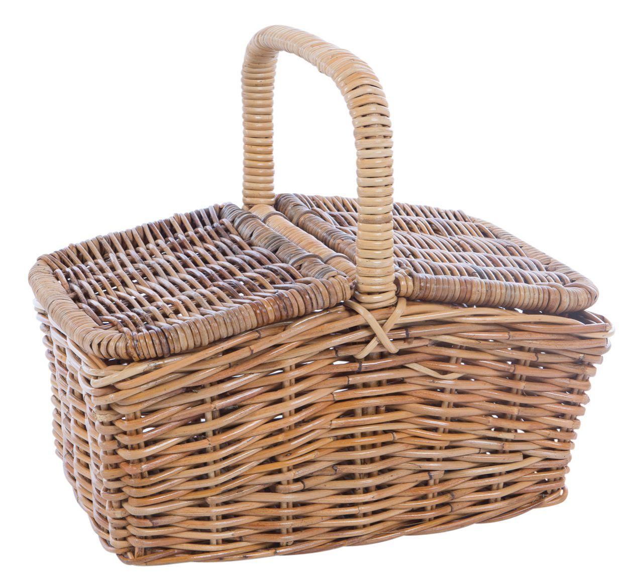 Rotan picknickmand 9170