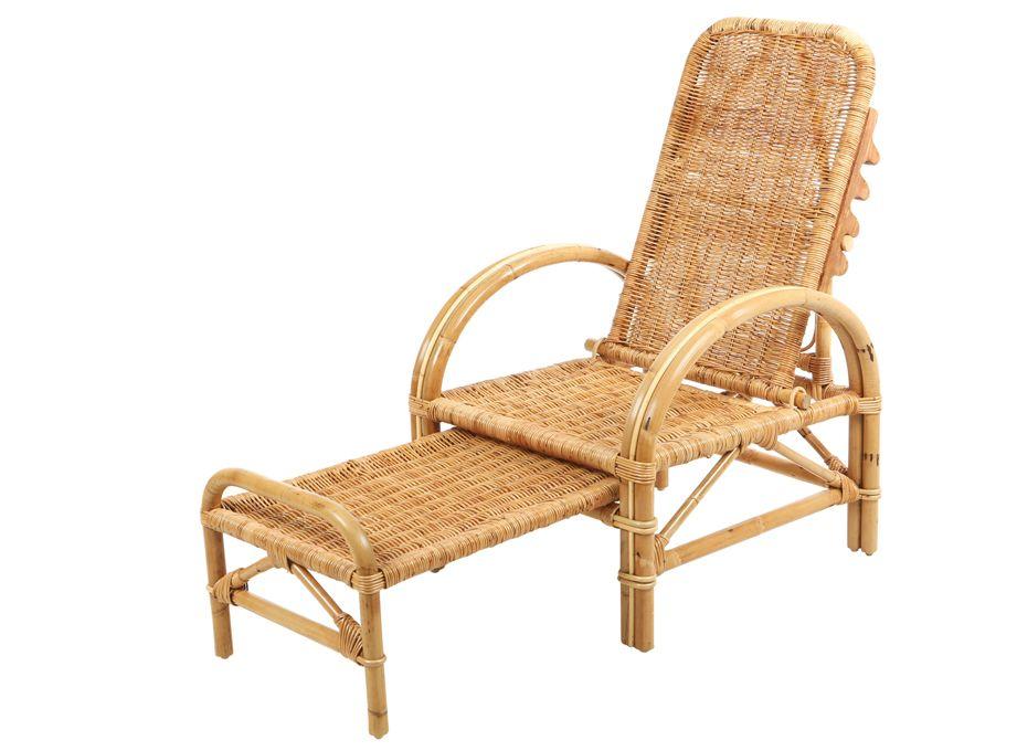 Rotan ligstoel