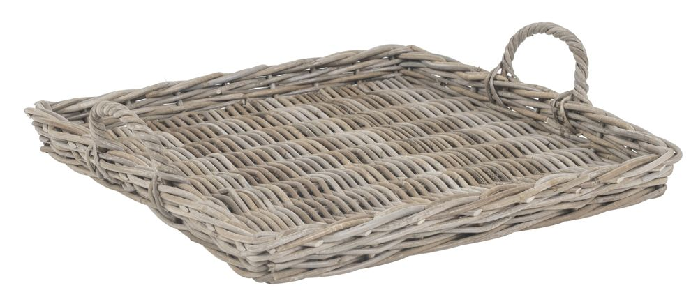 Rattan Tablett