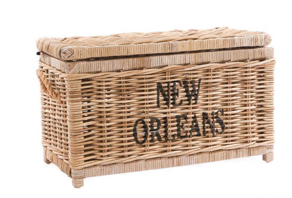 Rieten koffer New Orleans