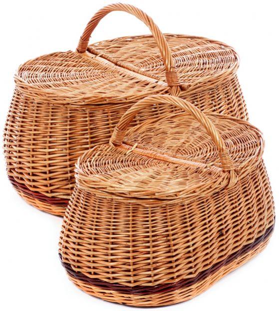 Rieten picknickmand 1504