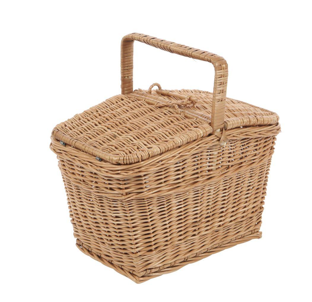 Rieten picknickmand 1516