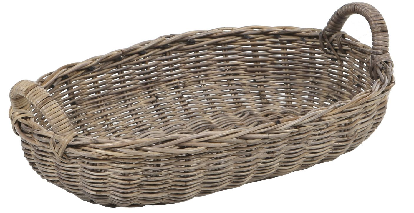 Rattan Brotkorb Oval