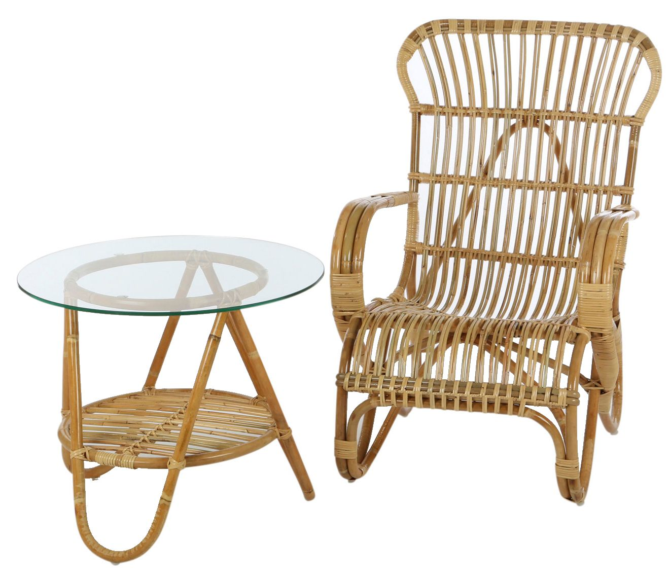 vintage rattan tisch tischgestelle terrasse. Black Bedroom Furniture Sets. Home Design Ideas