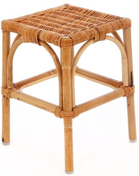 rattan hocker kooboo grau rattan terrassenst hlen. Black Bedroom Furniture Sets. Home Design Ideas