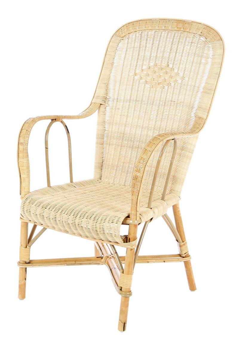 Franse pitriet stoel hoge rug