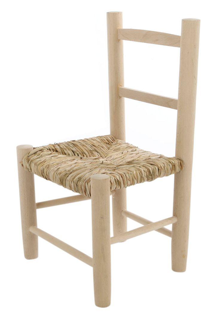 Kinderstoel biezen mat onbewerkt