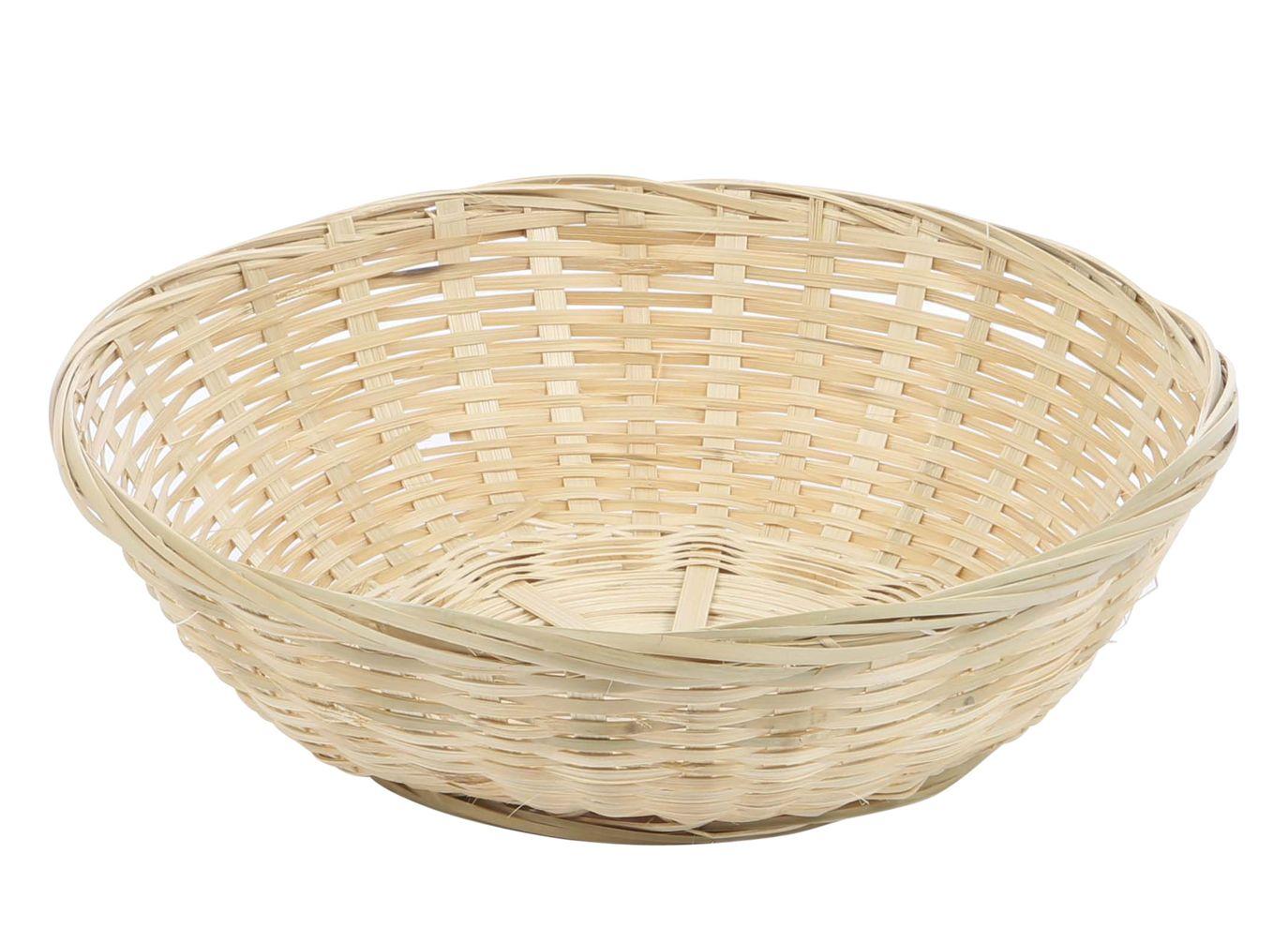 Broodmand bamboe rond