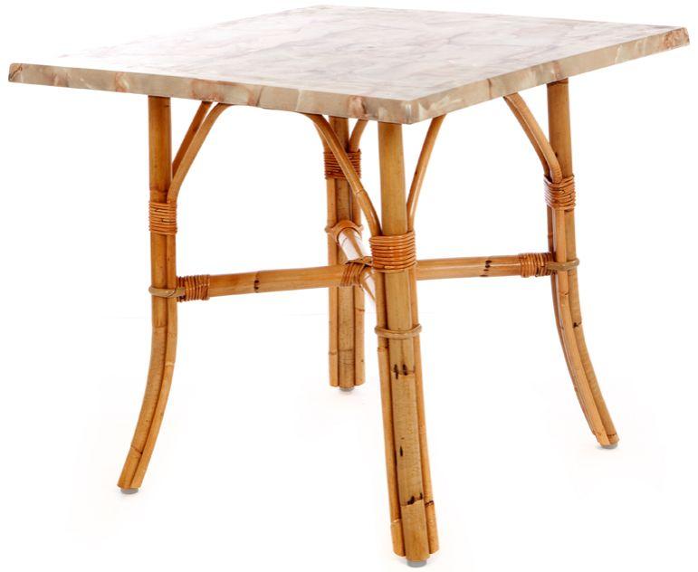 Rattan Tischgestell
