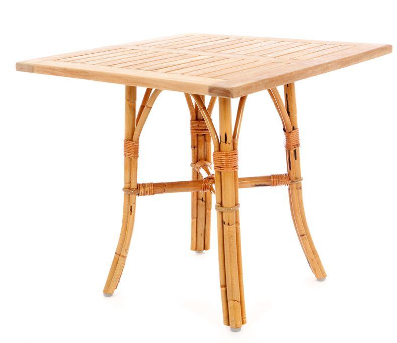 Rotan terras tafelonderstel