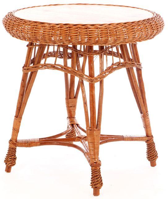 Tisch Rund Weide