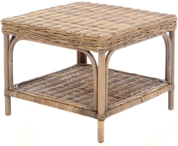 Tisch Palermo Viereckig Rattan