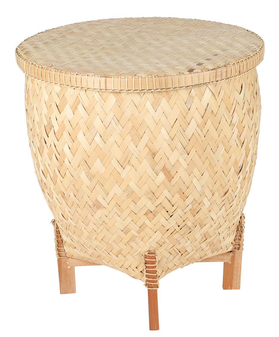 Bambus Aufbewahrungskorb
