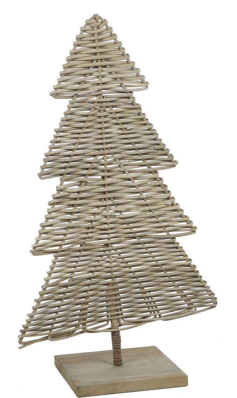 Rattan Weihnachtsbaum
