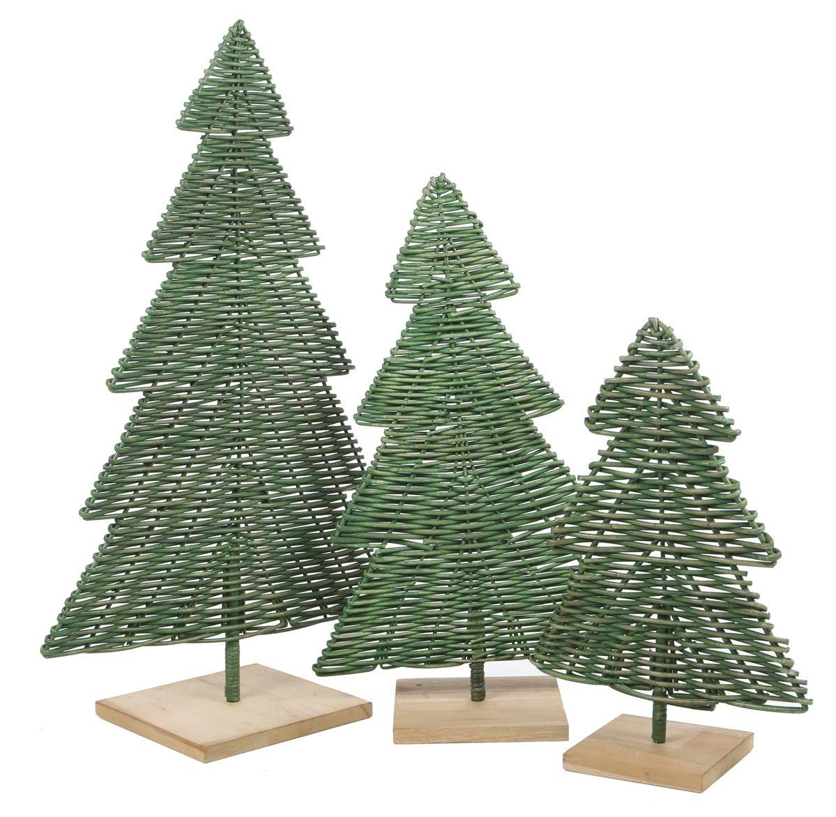 Rotan kerstboom 100 cm