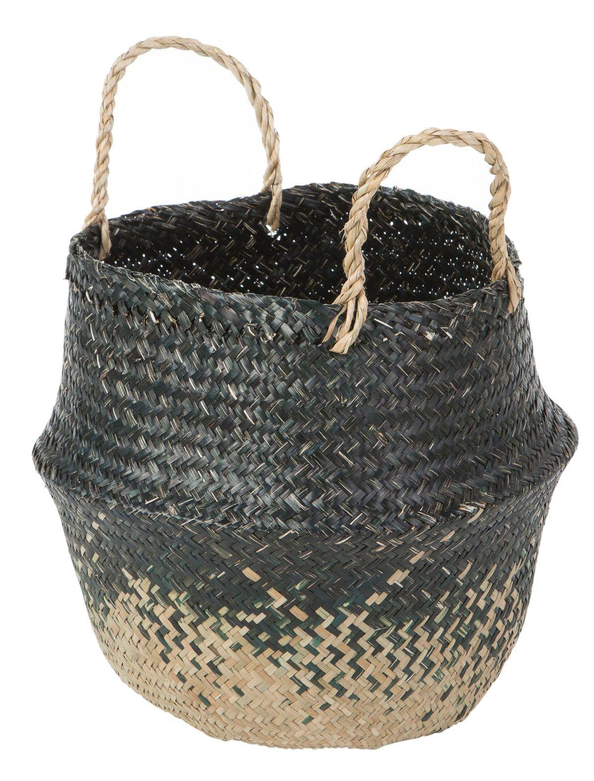 Deko-Korb schwarz