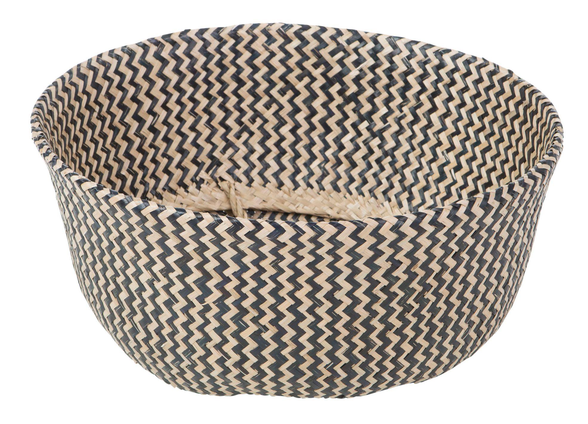Deko-Korb Streifen