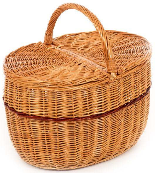 Rieten picknickmand 1505